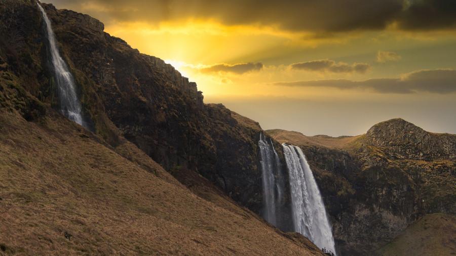TF/OT4A Seljalandsfoss waterfall, Iceland.