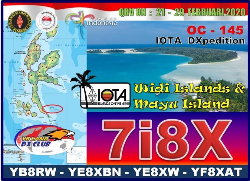 7I8X Widi Islands Logo