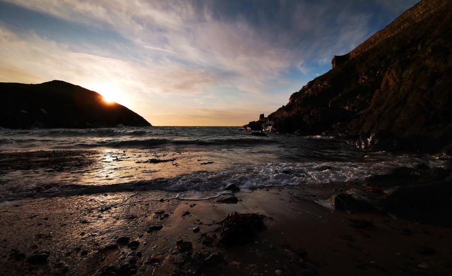 GD/ON6QR Fenella Beach, Isle of Man