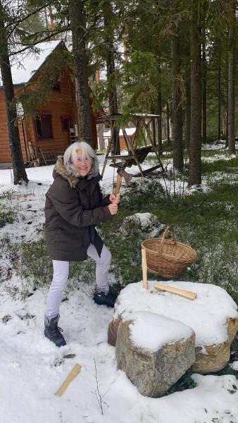 OH/HB9GNP Gabriela Husler, Savonlinna, Finland