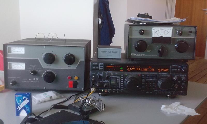 OY9JD Jon Dam, Torshavn, Faroe Islands Radio Room Shack