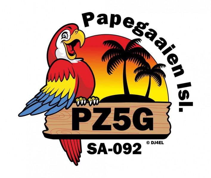 PZ5G Papegaaien Island, Suriname