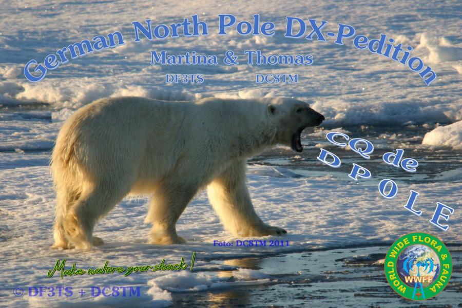 DP0LE Северный полюч