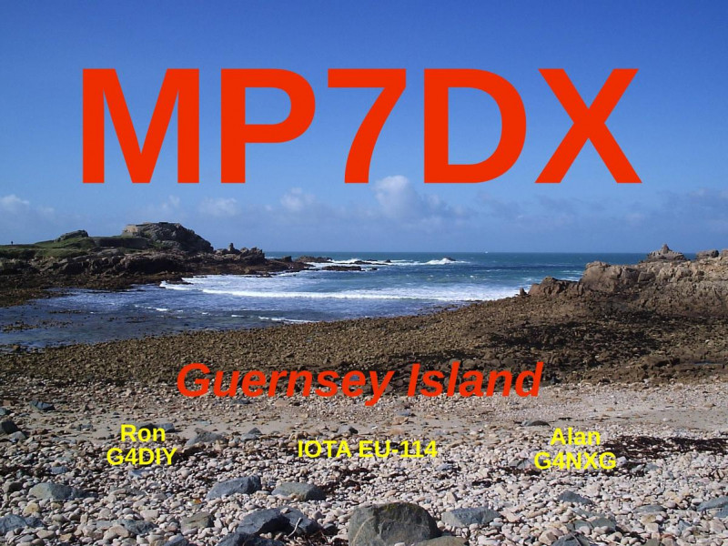 MP7DX Guernsey Island