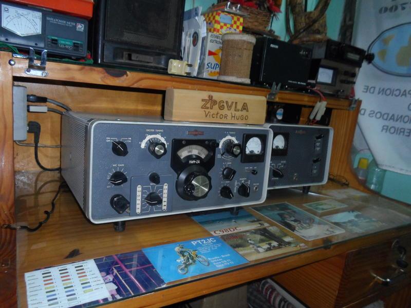 ZP6VLA Victor Hugo Sosa, Capiata, Paraguay Radio Room Shack
