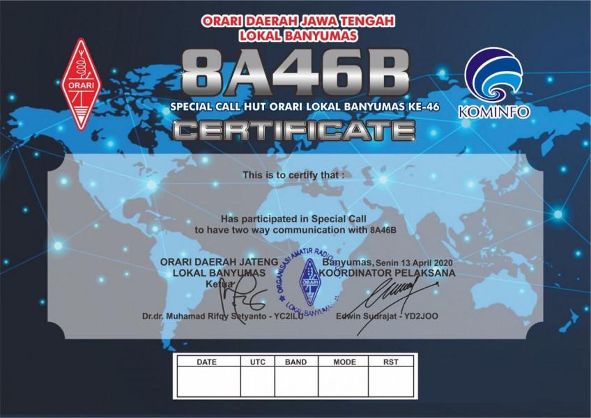 8A46B Purwokerto, Indonesia