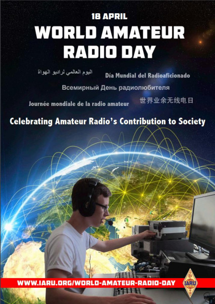 GB2ARD Dewsbury, England World Amateur Radio Day