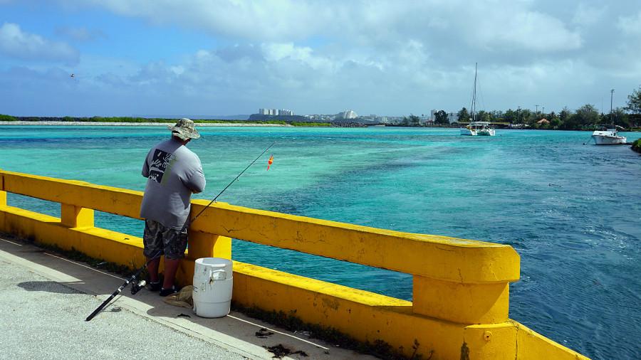 KH2/KC4VBE Agana Bay, Guam Island
