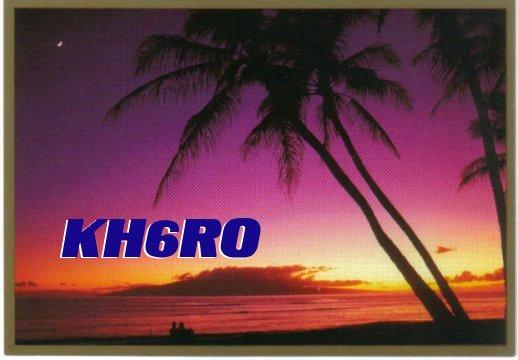 KH6RO Haiku, Maui Island, Hawaiian Islands