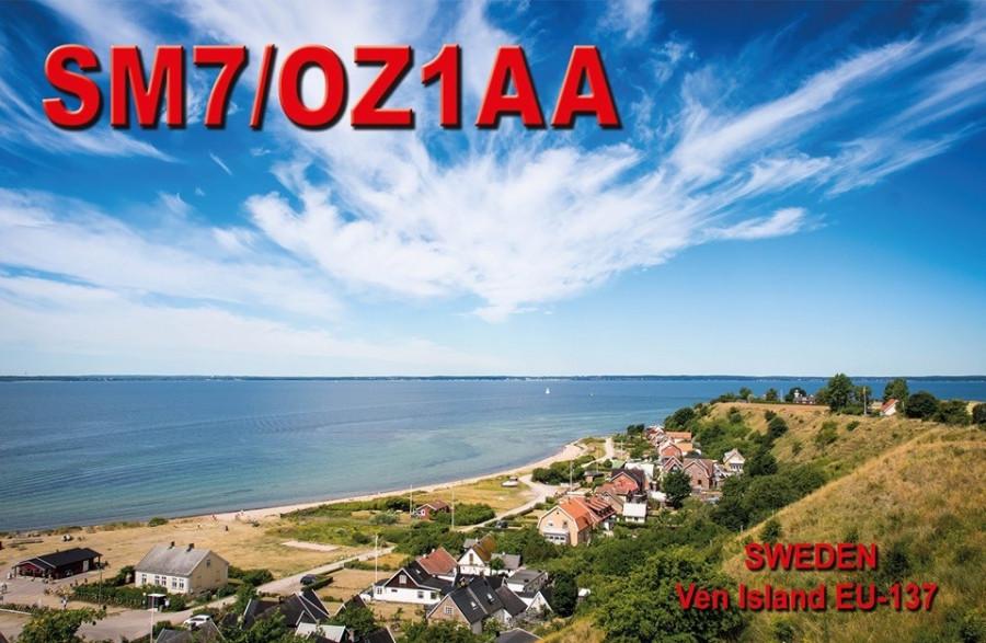 SM7/OZ1AA Ven Island, Sweden