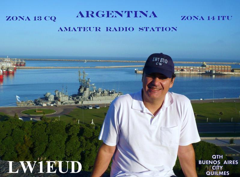 LW1D Roberto Spadavecchia, Quilmes, Buenos Aires, Argentina