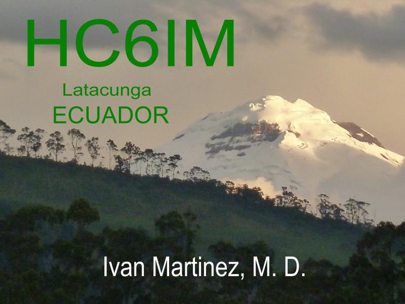 HC6IM Latacunga, Ecuador