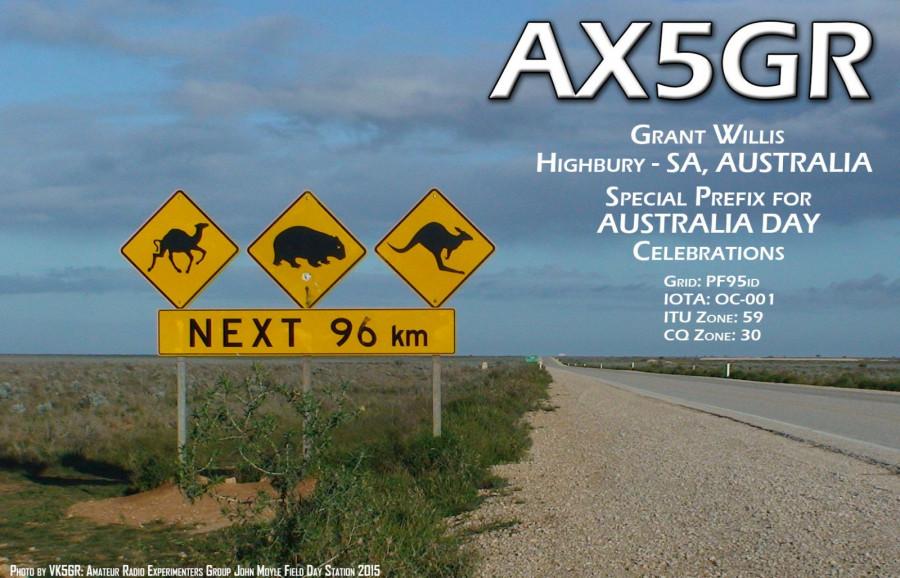 AX5GR Grant Willis, Highbury, South Australia, Australia