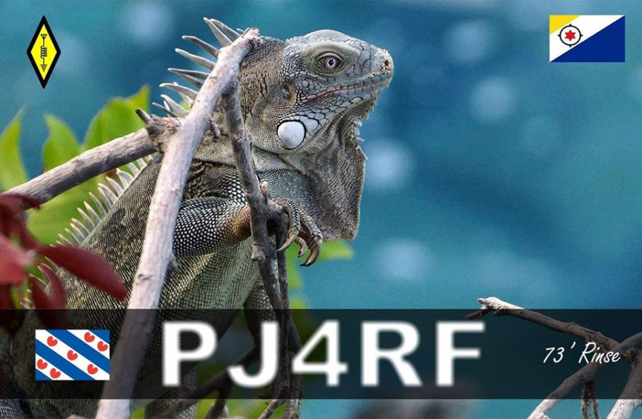 PJ4RF Rinse Visser, Kralendijk, Bonaire