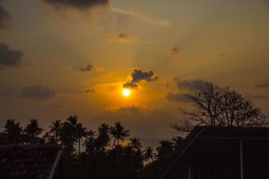 AT2BTC Golden Sunset, Kollam, Kerala, India