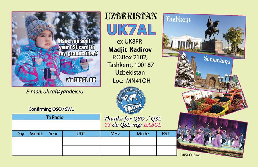UK75AL Madjit Kadirov, Tashkent, Uzbekistan