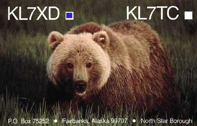 KL7XD Edward Hunstein, Fairbanks, Alaska