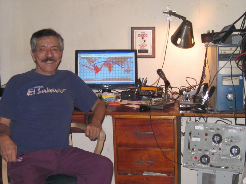 YS1AG Andres Goens, San Salvador, El Salvador