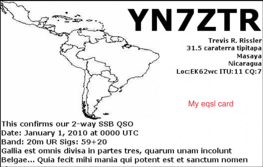 YN7ZTR Masaya, Nicaragua