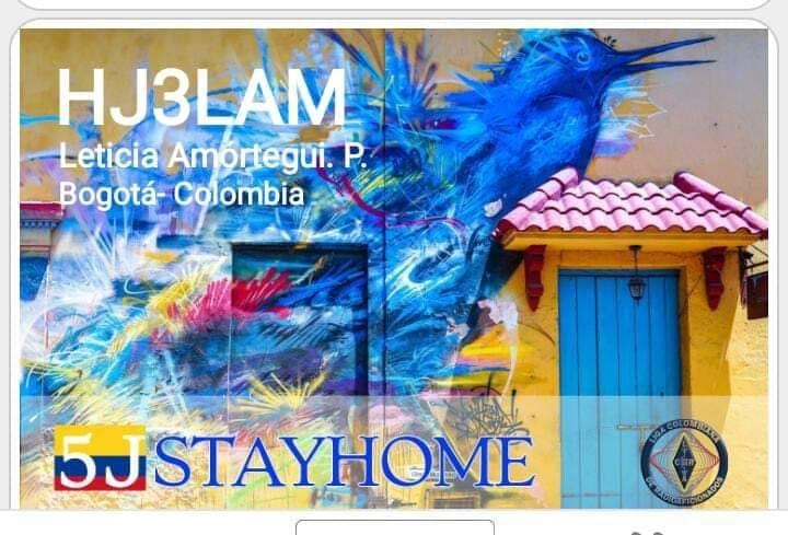 HJ3LAM Leticia Amortegui, Bogota, Colombia