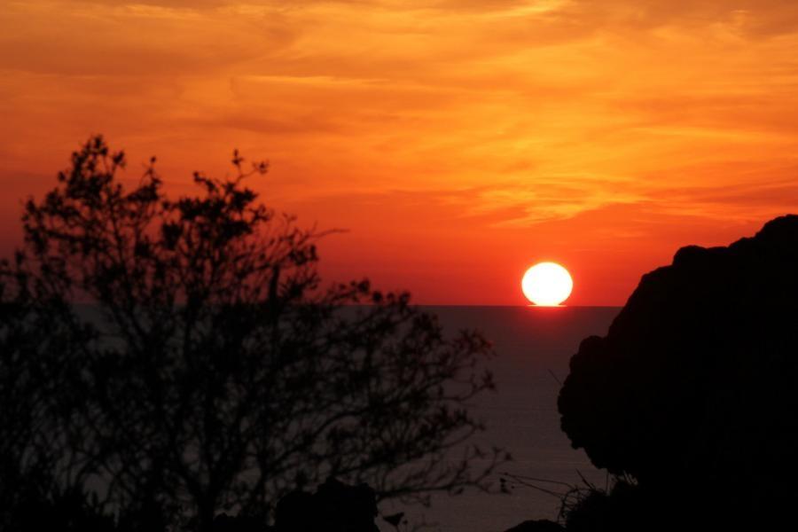 IT9AAK/ID9 Panarea Island Sunset