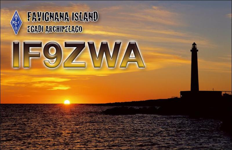 IF9ZWA Michele Rotola, Favignana Island, Egadi Islands