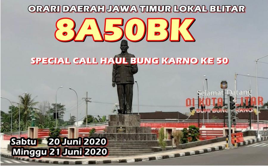8A50BK Blitar, Indonesia