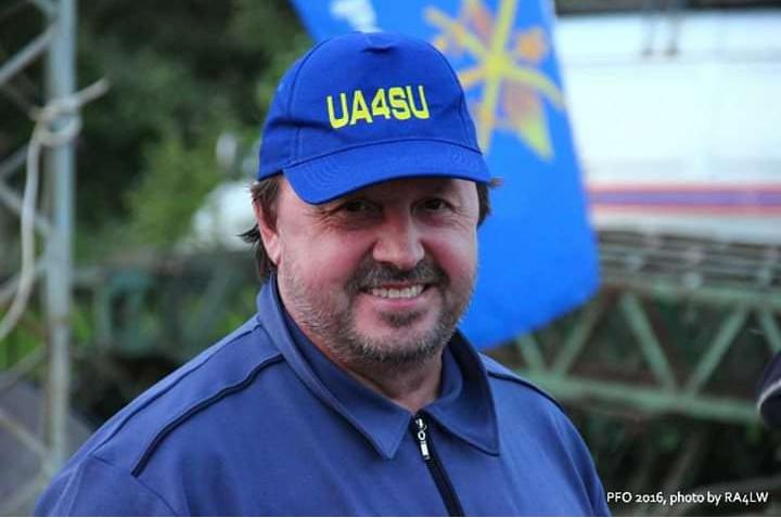UA4SU Sergey Raspopin, Yoshkar-Ola, Russia
