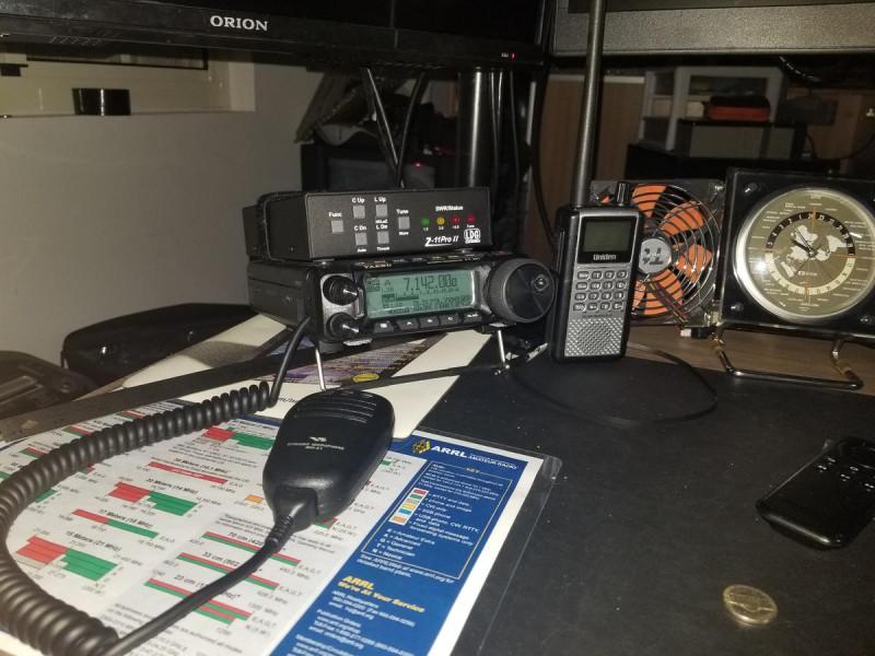 AH2EJ Guam Island Radio Room Shack