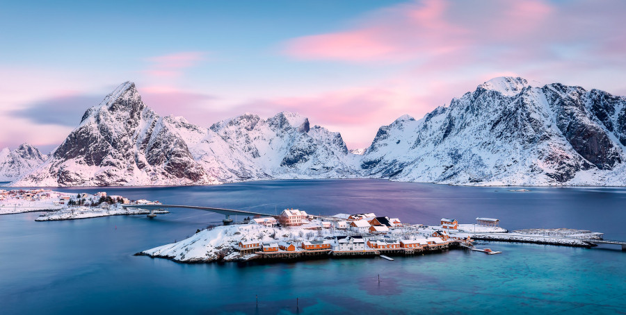 LA7GIA/P Sakris Island, Lofoten Islands, Norway