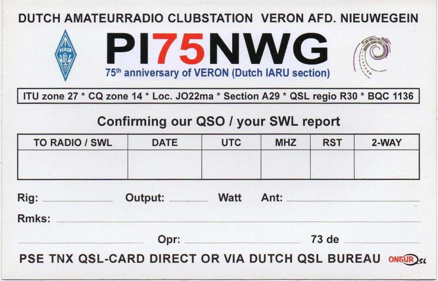 PI75NWG Nieuwegein, Netherlands