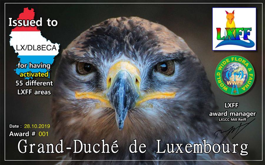 LX/DL8ECA Luxembourg