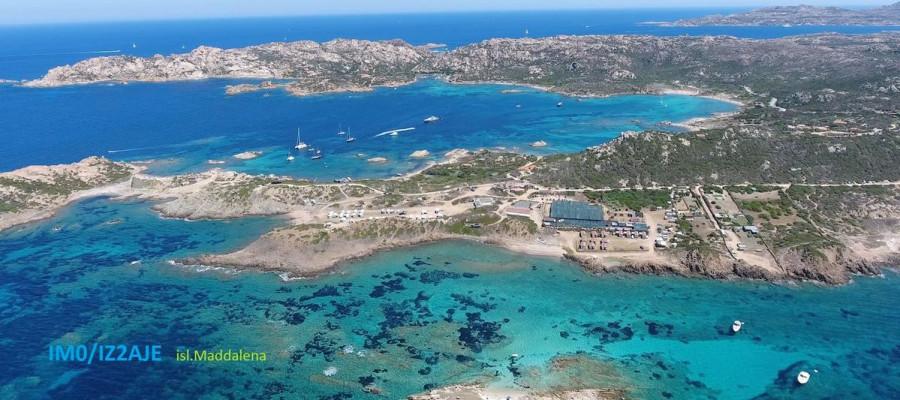 IM0/IZ2AJE Maddalena Island