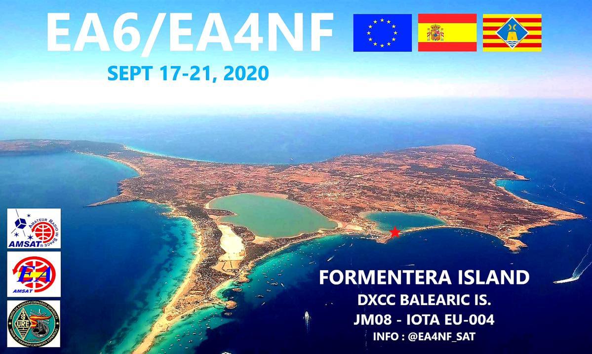 EA6/EA4NF Formentera Island, Balearic Islands
