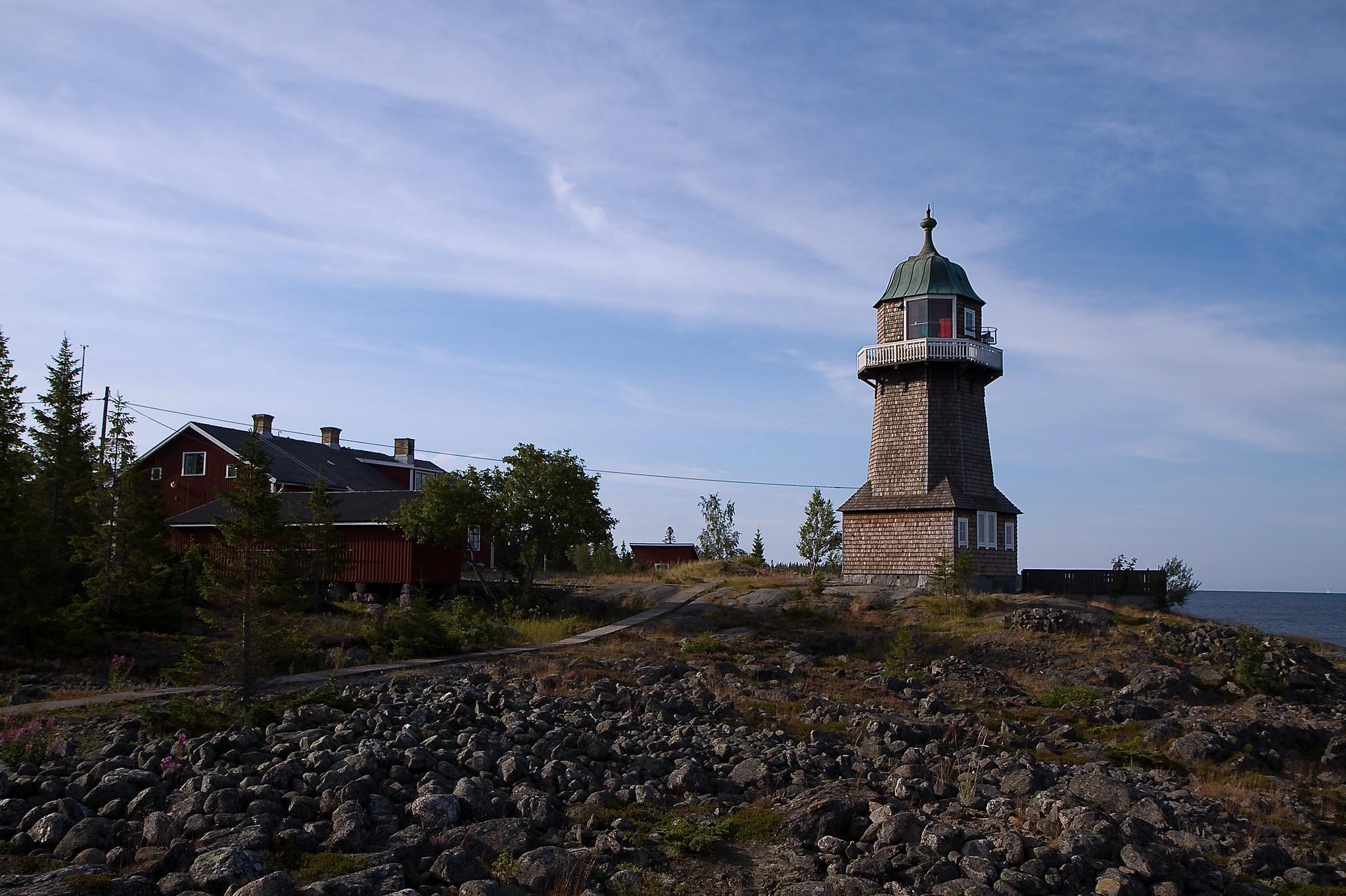 SM/DH0JAE SM/DL8MF Bergudden Lighthouse, Holmon Island, Sweden