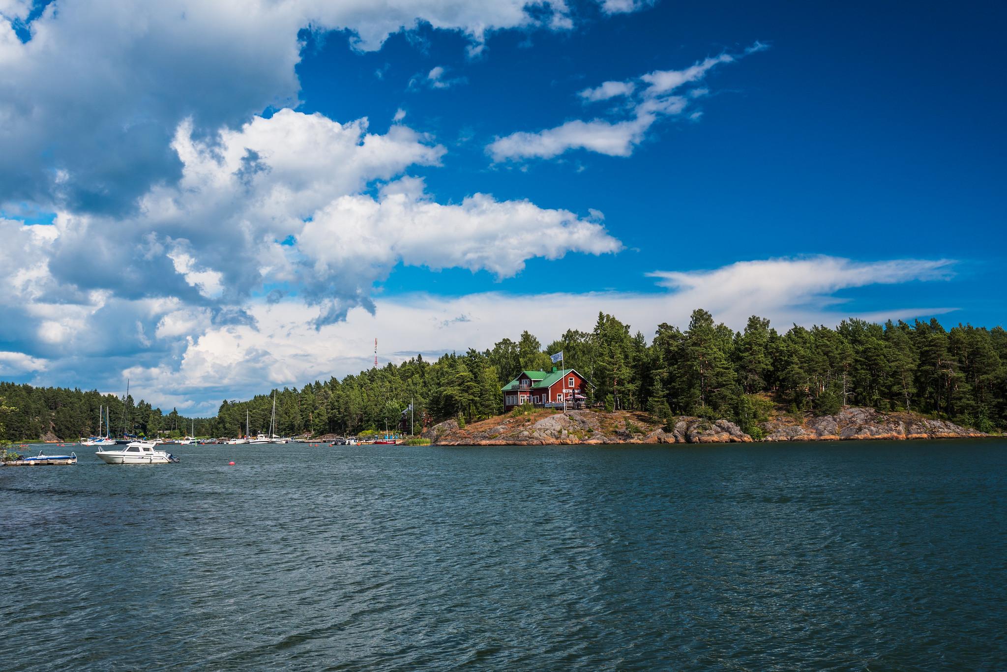 OH/DL2SWW Orslandet Island, Finland
