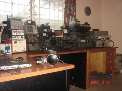 7Q7CT Lilongwe, Malawi Radio Room Shack