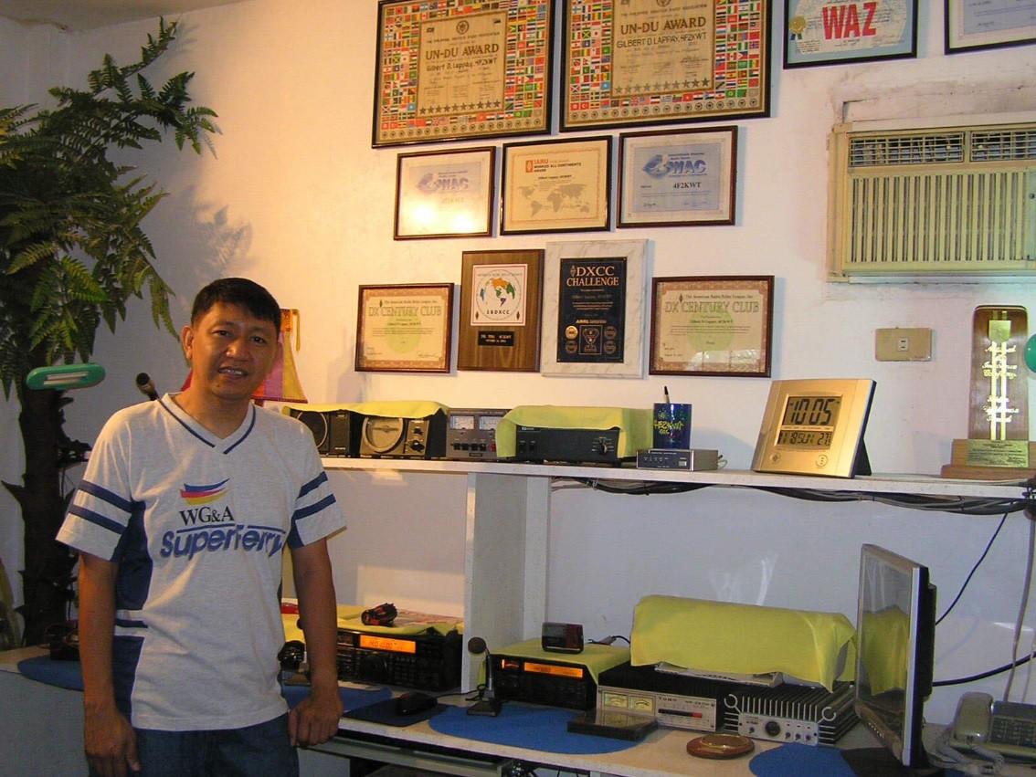 4F2KWT Gilbert Lappay, San Fernando, Luzon, Philippines