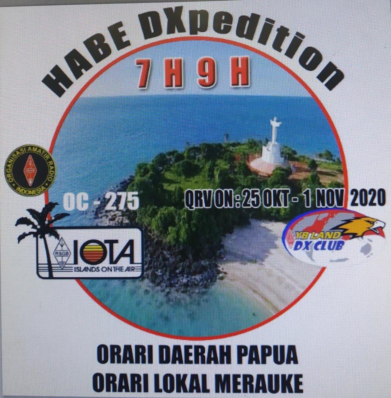 7H9H Habe Island, Indonesia