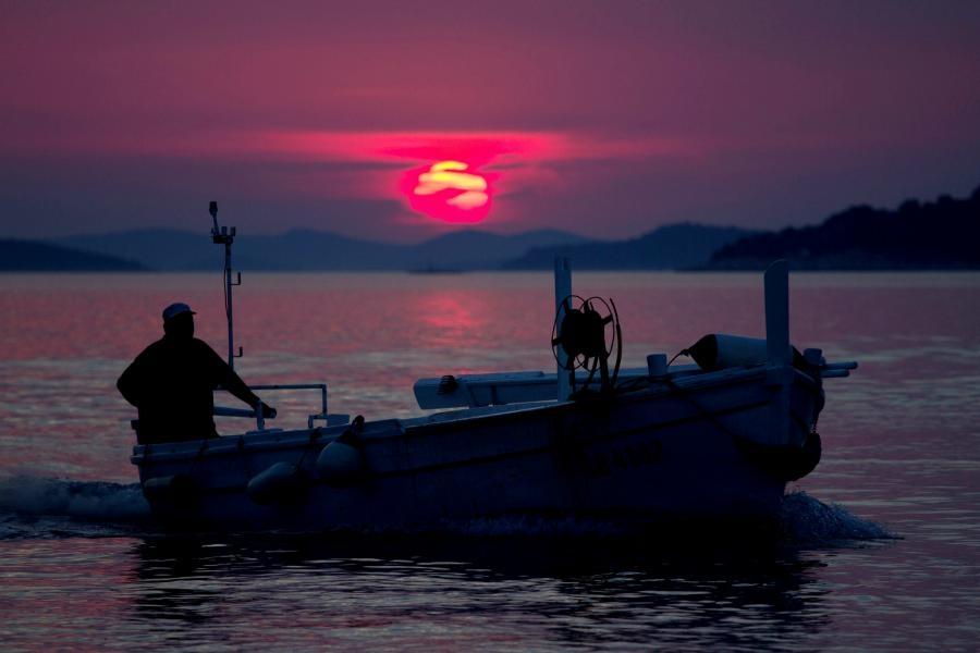 9A/GW4UWD/P Zlarin Island Sunset