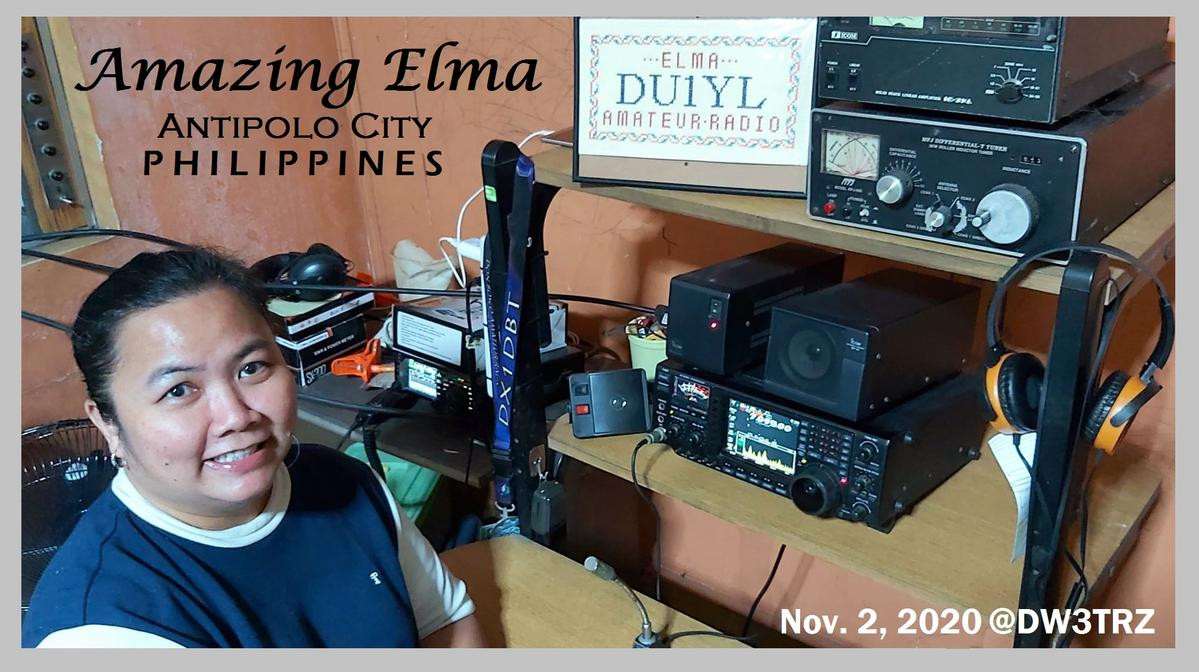 DU1YL Elma Hogar, Antipolo, Philippines