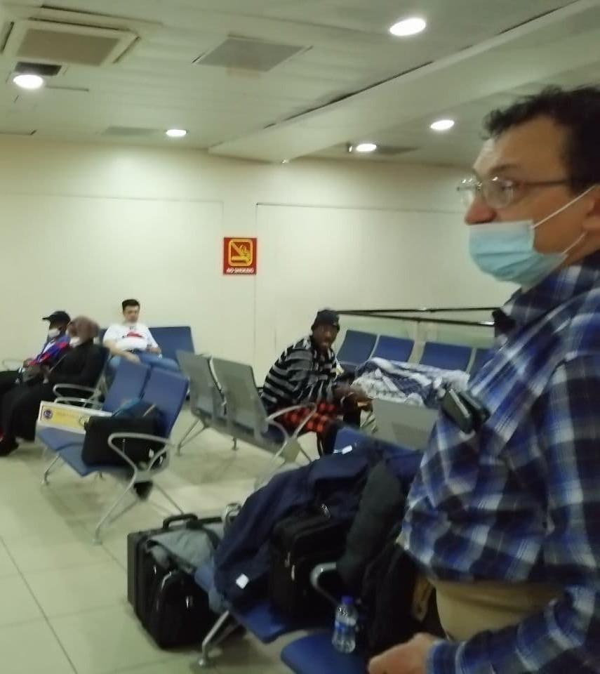 7Q7RU Malawi Team Airport Nairobi, Kenya