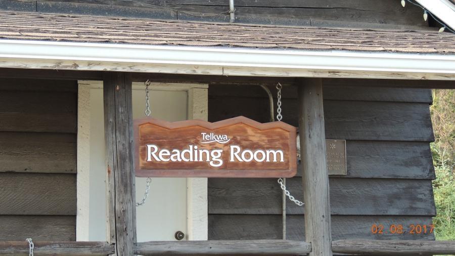VE7ACN Telkwa British Columbia Reading Room