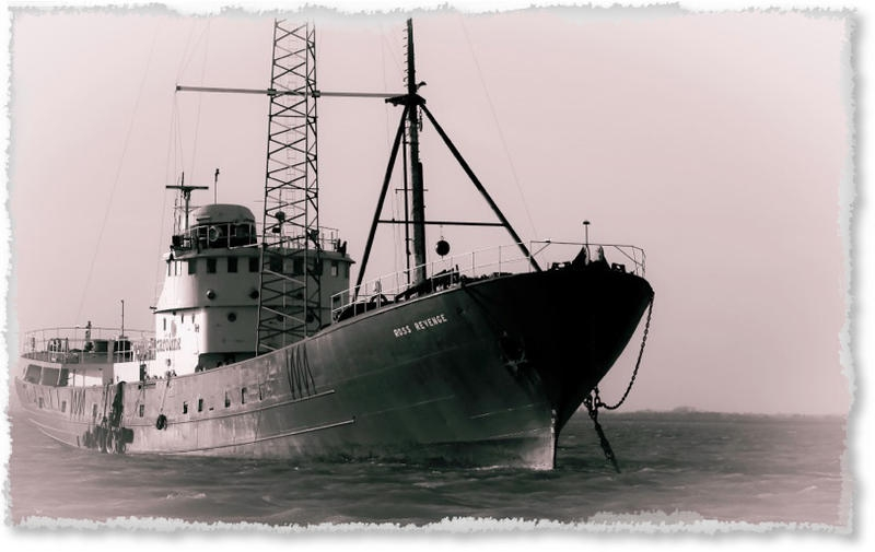 GB5RC Radio Caroline Pirate Station
