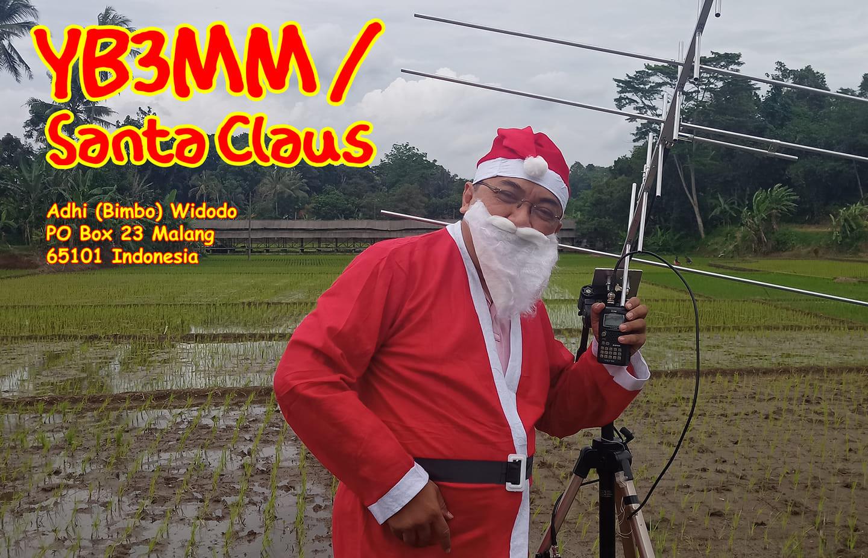 YB3MM Indonesian Santa Claus, Malang, Indonesia