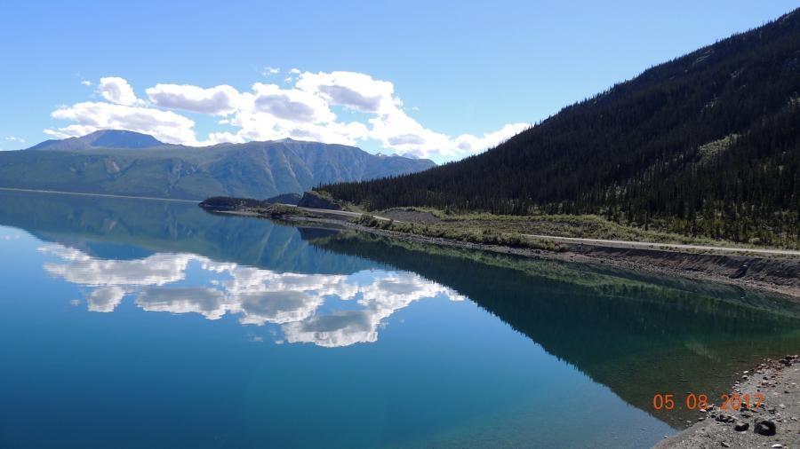 VE7ACN Lake Kluane
