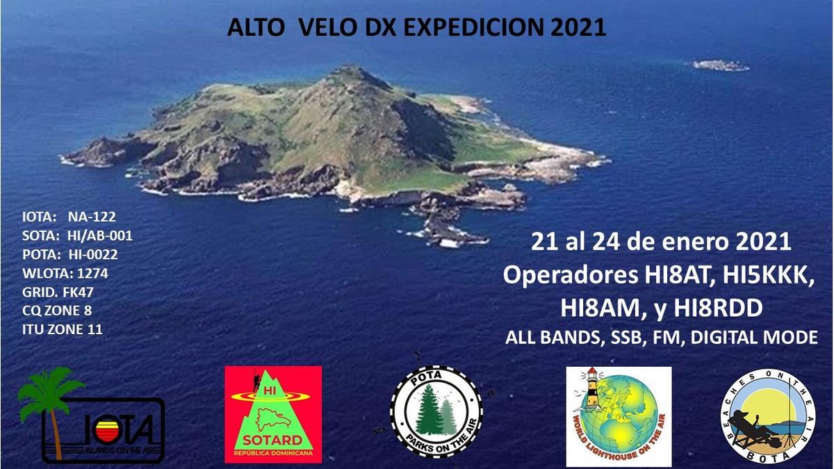 HI1IDT Alto Velo Island, Dominican Republic