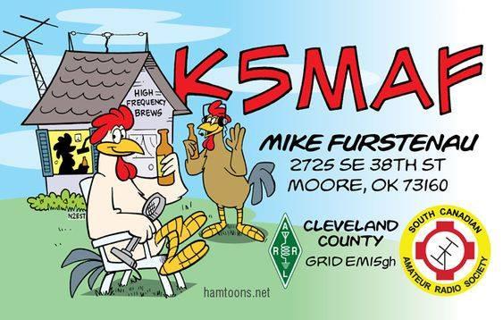 K5MAF Mike Furstenau, Moore, Oklahoma, USA
