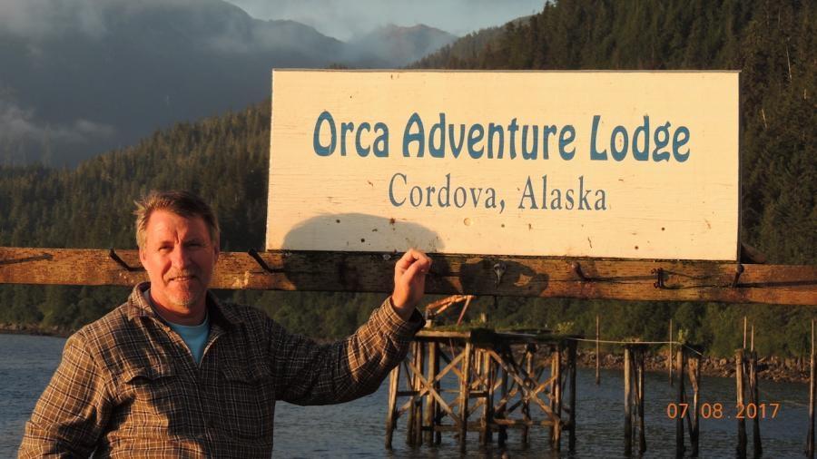 VE7ACN Orca Adventure Lodge Cordova Alaska