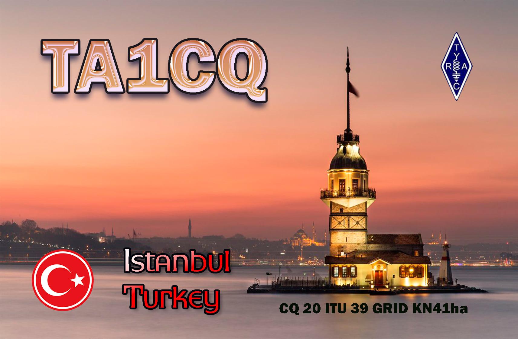 TA1CQ Beylikduzu, Istanbul, Turkey